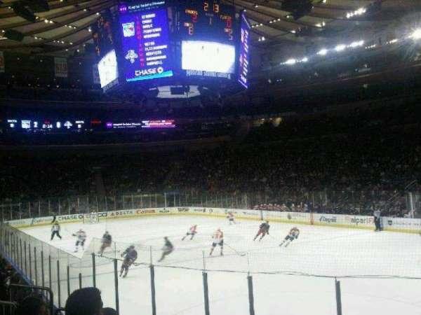 Madison Square Garden, sección: 120, fila: 8, asiento: 12