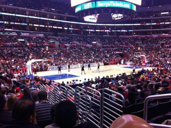 Staples Center, sección: 114, fila: 16, asiento: 2