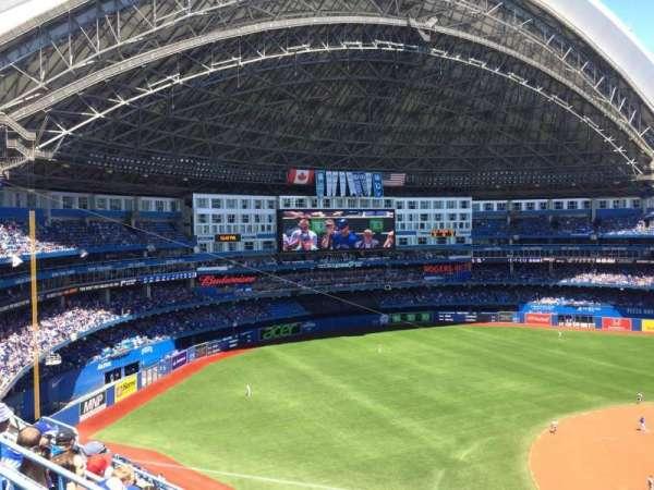 Rogers Centre, sección: 531L, fila: 6, asiento: 101