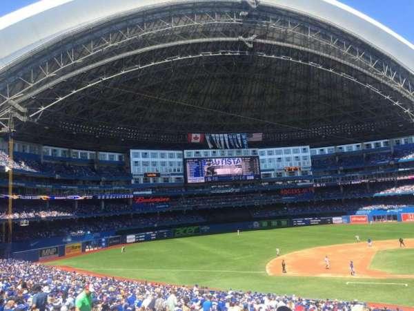 Rogers Centre, sección: 126L, fila: 40, asiento: 103