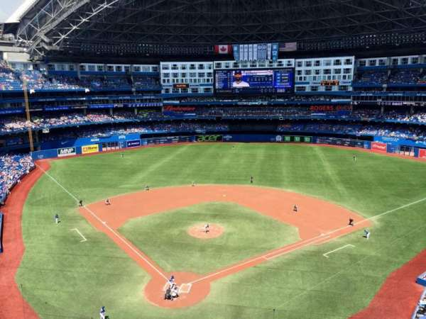 Rogers Centre, sección: 523L, fila: 1, asiento: 107
