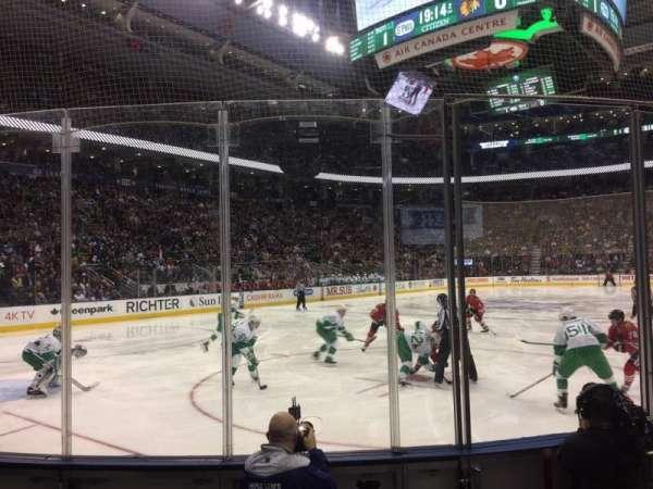 Scotiabank Arena, sección: 112, fila: 7, asiento: 4