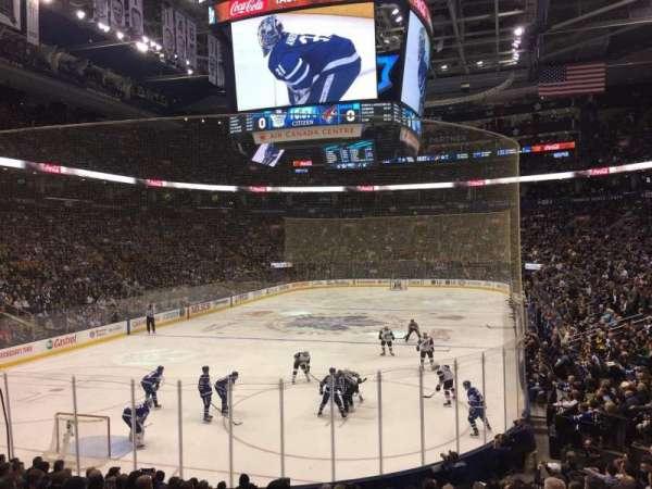 Scotiabank Arena, sección: 101, fila: 18, asiento: 19