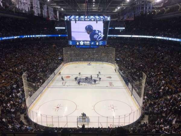 Scotiabank Arena, sección: 303, fila: 6, asiento: 5