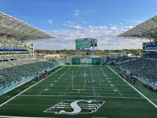 Mosaic Stadium, sección: 226, fila: 13, asiento: 1