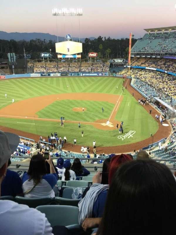 Dodger Stadium, sección: 7td, fila: G, asiento: 13