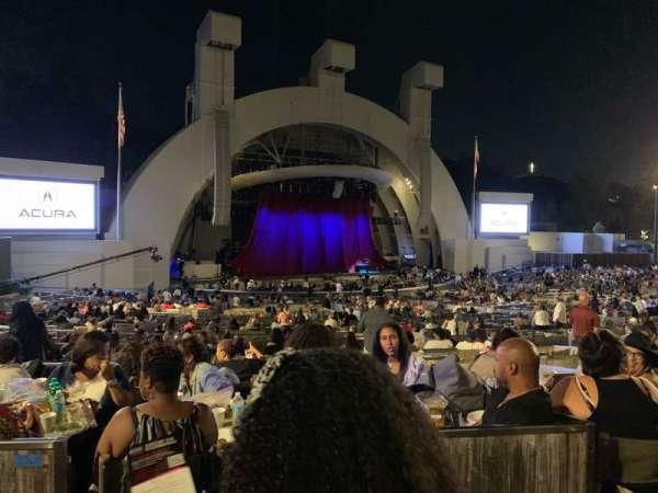 Hollywood Bowl, sección: Terrace Box 1464, fila: 6