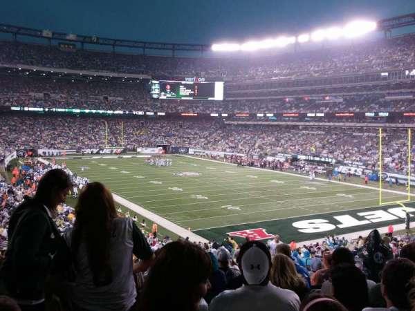 MetLife Stadium, sección: 106, fila: 41, asiento: 5