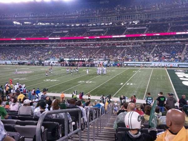 MetLife Stadium, sección: 110, fila: 11, asiento: 11