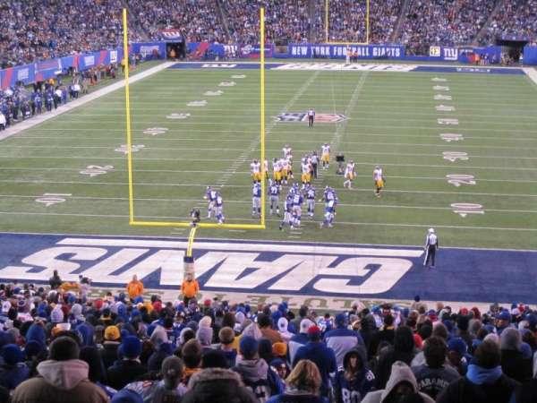MetLife Stadium, sección: 101, fila: 45, asiento: 3