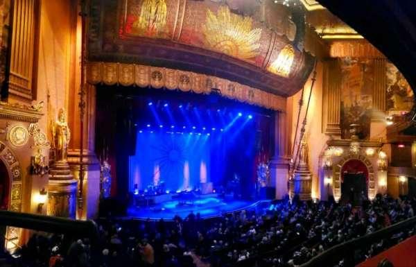 Beacon Theatre, sección: Loge 1, fila: A, asiento: 25
