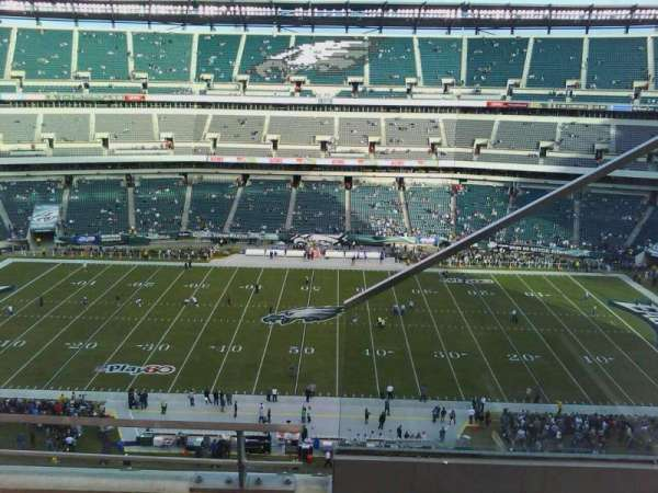 Lincoln Financial Field, sección: 201, fila: 6, asiento: 1