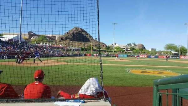 Tempe Diablo Stadium, sección: 15, fila: C, asiento: 9