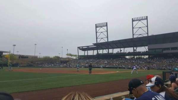 Salt River Fields, sección: 121, fila: 3, asiento: 12
