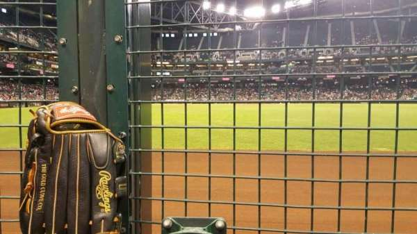 Chase Field, sección: RFW, fila: 1C, asiento: 4