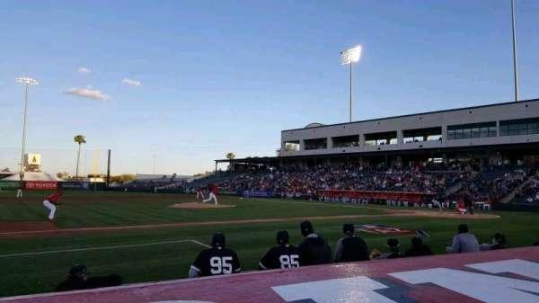 Tempe Diablo Stadium, sección: 5, fila: E, asiento: 5