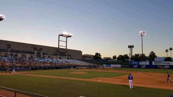 Cashman Field, sección: 19, fila: D, asiento: 4
