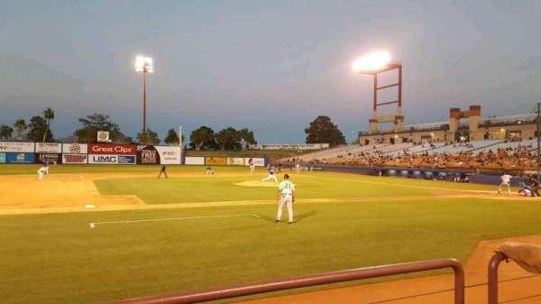 Cashman Field, sección: 6, fila: B, asiento: 1