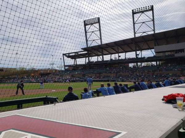 Salt River Fields, sección: 119, fila: 5, asiento: 10