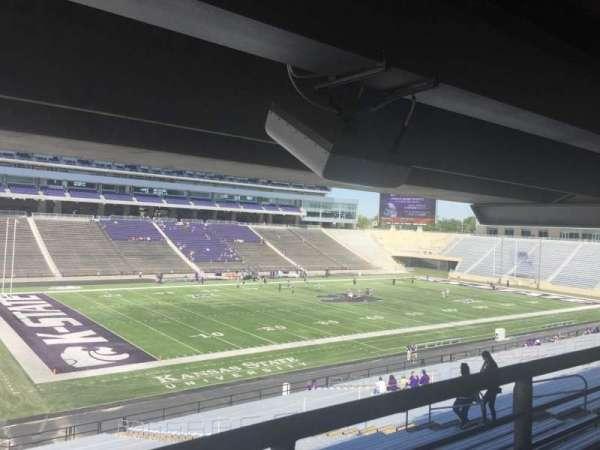 Bill Snyder Family Stadium, sección: 20, fila: 45, asiento: 14