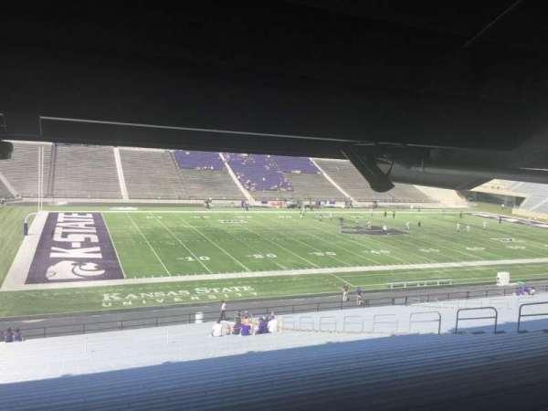 Bill Snyder Family Stadium, sección: 21, fila: 47, asiento: 19