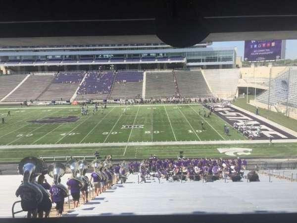Bill Snyder Family Stadium, sección: 26, fila: 44, asiento: 5