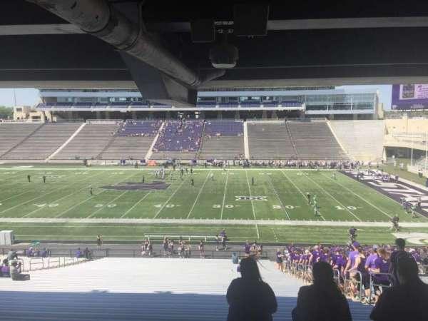 Bill Snyder Family Stadium, sección: 25, fila: 45, asiento: 23