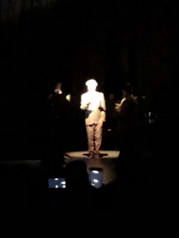 The Theatre at Grand Prairie, sección: 103, fila: K, asiento: 5