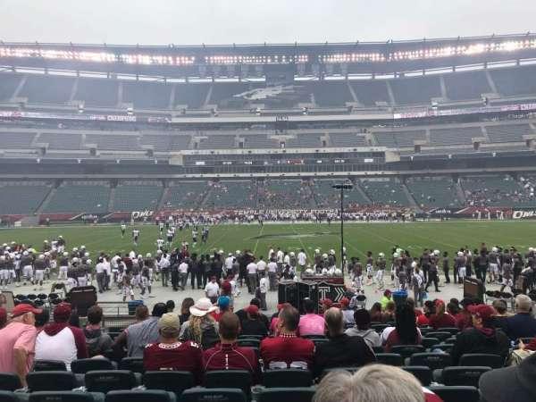 Lincoln Financial Field, sección: 120, fila: 13, asiento: 18
