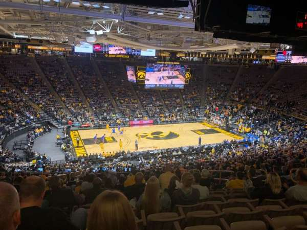 Carver-Hawkeye Arena, sección: BB, fila: 40, asiento: 10