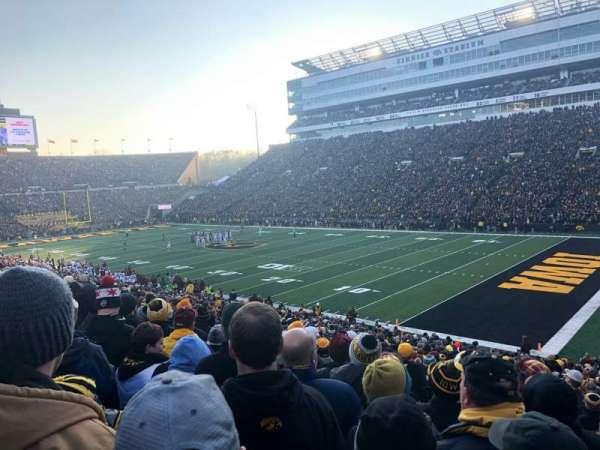 Kinnick Stadium, sección: 101, fila: 36, asiento: 4