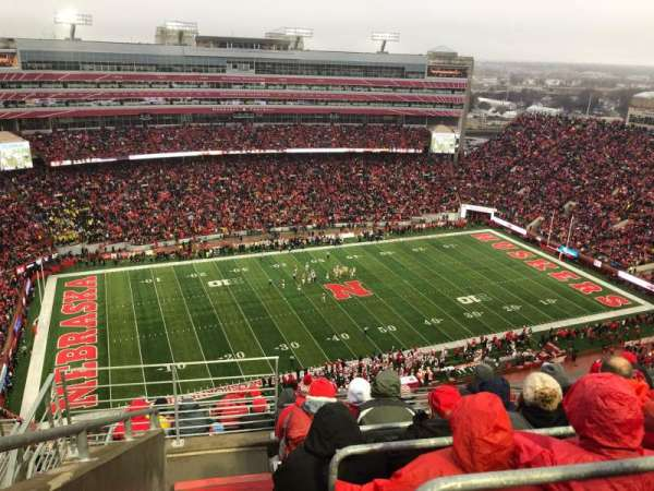 Memorial Stadium (Lincoln), sección: 610, fila: 9, asiento: 19