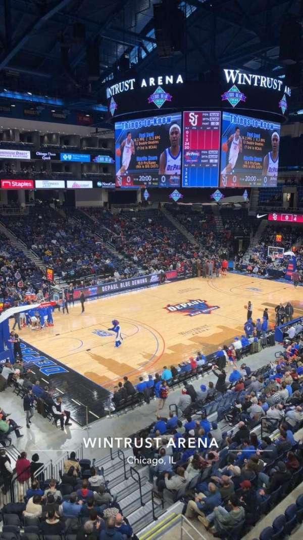 Wintrust Arena, sección: 228, fila: A, asiento: 6