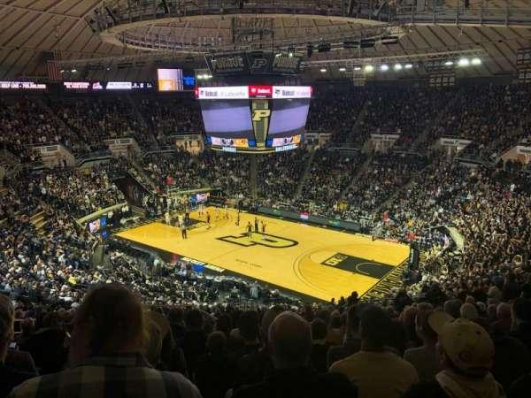 Mackey Arena, sección: 108, fila: 22, asiento: 18