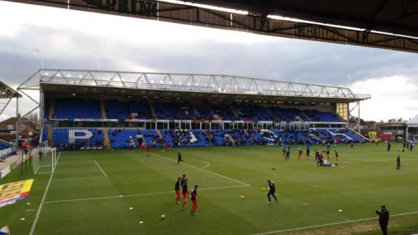 London Road Stadium, sección: Main Stand, fila: N