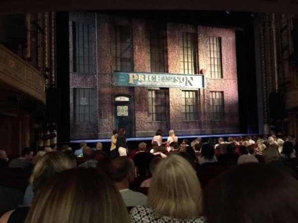 Al Hirschfeld Theatre, sección: Orchestra L, fila: P, asiento: 5