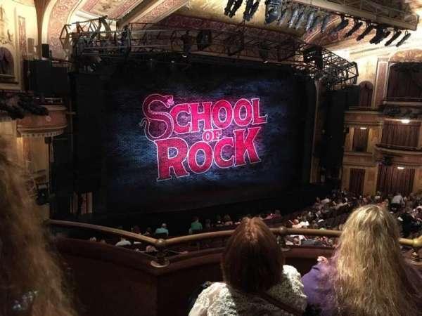 Winter Garden Theatre, sección: MEZZC, fila: C, asiento: 131