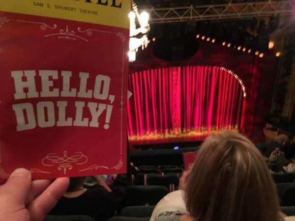Shubert Theatre, sección: BALC, fila: H, asiento: 111