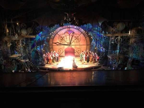 Gershwin Theatre, sección: Front Mezzanine C, fila: A, asiento: 108