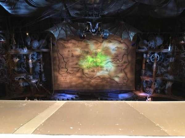 Gershwin Theatre, sección: Front Mezzanine C, fila: A, asiento: 109