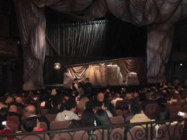 Majestic Theatre, sección: Orchestra Left, fila: K, asiento: 11