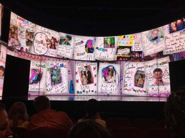 August Wilson Theatre, sección: ORCHC, fila: E, asiento: 109
