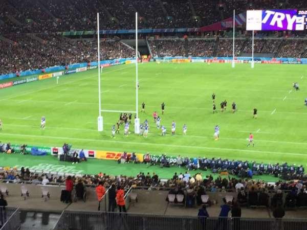London Stadium, sección: 253, fila: 49, asiento: 784