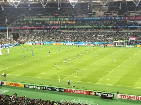 London Stadium, sección: 238, fila: 54, asiento: 355