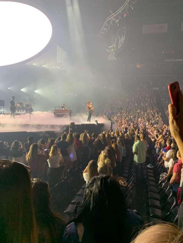 Nationwide Arena, sección: 116, fila: C, asiento: 7