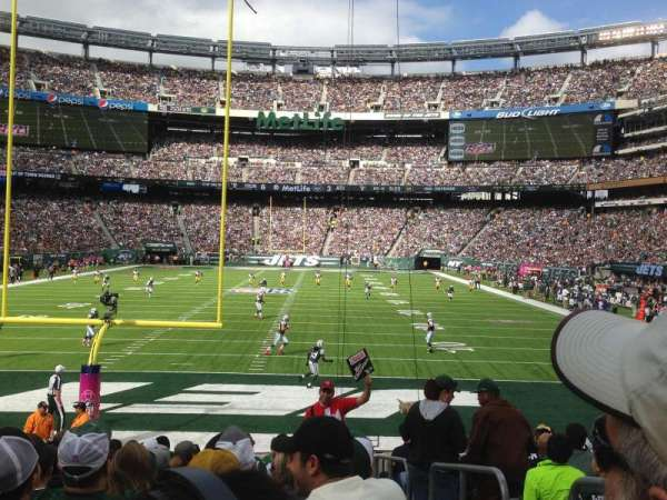 MetLife Stadium, sección: 126, fila: 14, asiento: Aisle