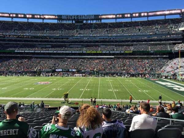MetLife Stadium, sección: 111c, fila: 25, asiento: 5