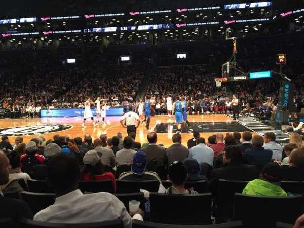 Barclays Center, sección: 23, fila: 5, asiento: 5