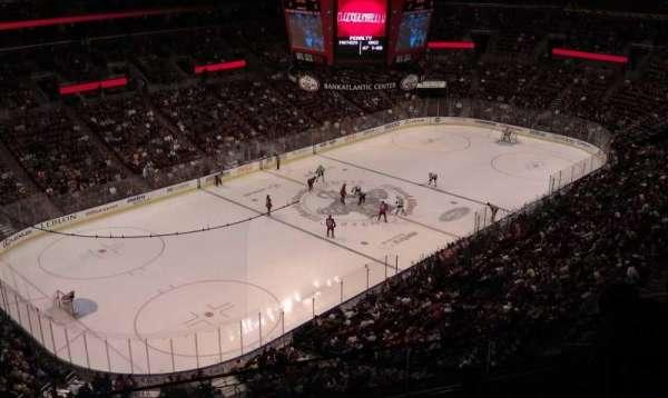 BB&T Center, sección: 306, fila: 4, asiento: 14