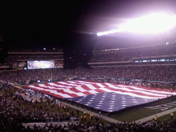 Lincoln Financial Field, sección: SRO
